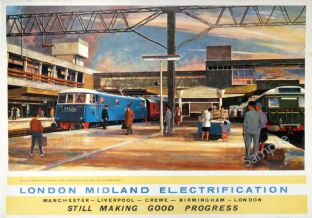London Midland Railway   -  Stafford Station